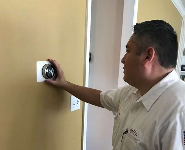 nest installation of thermostat