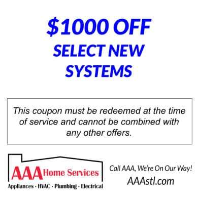 $1000 OFF SELECT NEW SYSTEM