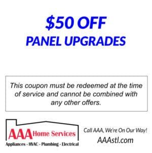 $50 panel upgrade