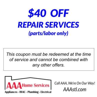 $40 Off HVAC Repair for Landing Pages