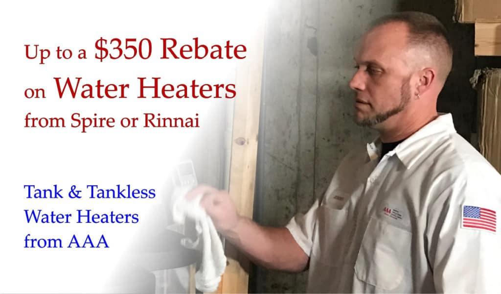 Water Heater Promo