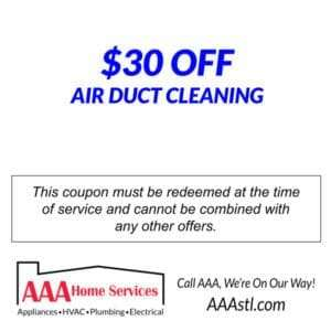 $30 OFF Duct Cleaning