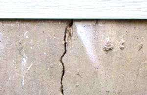 foundation cracks and sewer repairs
