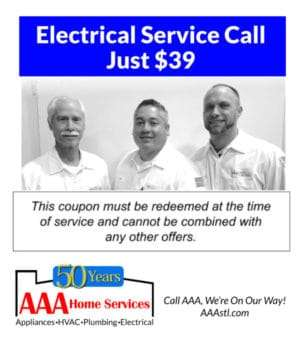 $39 Electrical Service Call