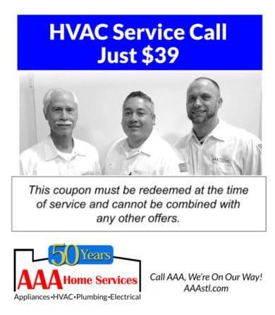 $39 HVAC Service Call Special